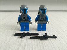 GENUINE LEGO STAR WARS MANDALORIAN MINIFIGURE X2