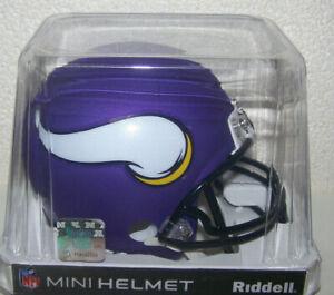 Minnesota Vikings NFL VSR4 Style Replica Mini Football Helmet Riddell