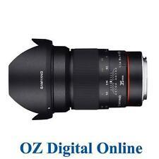 Samyang Manual Focus f/1.4 SLR Camera Lenses