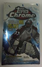 2002-03 Topps Chrome Factory Sealed Hockey Hobby Box