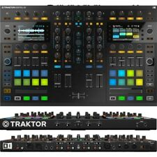 NATIVE INSTRUMENTS TRAKTOR KONTROL S8 controller 4deck + traktor scratch pro2