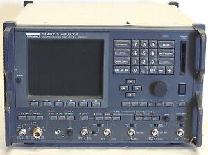 Schlumberger Stabilock SI 4031 Communication Test Set