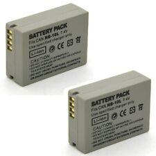 2x Battery for Canon PowerShot G1 X G15 G16 SX40 HS SX50 SX60 HS Digital Camera
