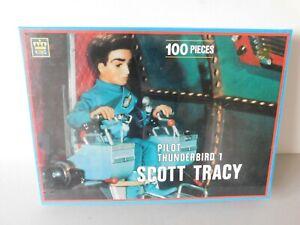 Thunderbirds 100 Piece Puzzle Thunderbird 1 Scott Tracy Made By King 1993