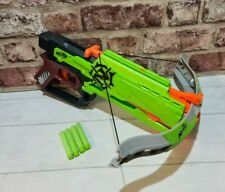 Nerf Zombie Strike Outbreaker Cross Bow Plus 4 Zombie Darts. FREE P&P