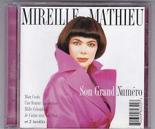 Mireille mathieu-son GRAND NUMERO CD album 1998/CD Near Mint!