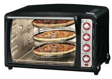 Forno Elettrico Ventilato 70 Litri Multi Forno Pizza Luce Termostato Regolabile