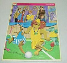 Vintage Whitman Walt Disney Tray Frame Jigsaw Puzzle Bed Knobs and Broomsticks