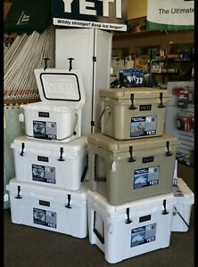 BRAND NEW YETI 35QT Cooler X4 FAST Shipping  COLOR Tan