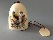 A Lovely Ceramic Bird Wind Chime