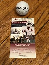 MARK MCCUMBER SIGNED PLAYERS CHAMPIONSHIP GOLF BALL RARE JSA