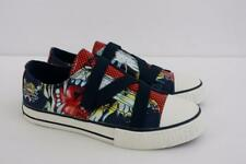 Ed Hardy Kids Children Youth Lowrise Navy Sneaker Navy Shoes Size 2 M NIB