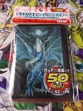 Yu-gi-oh 50 protège carte sleeves Dragon Blanc Aux Yeux Bleu blue eyes