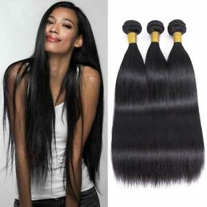 Brazilian Straight Human Hair Bundles Unprocessed Virgin Straight Hair 3 Bundles