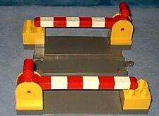 Lego Duplo Bahnübergang Eisenbahn Schranken Schienen level crossing 2740