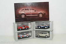 . MINICHAMPS PORSCHE HISTORY COLLECTION OFFROAD SET MINT BOXED RARE SELTEN RARO