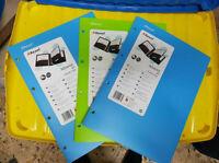 Rexel Advance Cartellina  PP 2 Tasche. CF.3PZ (2CELESTI 1VERDE COME FOTO)