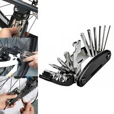 Rock Bros Bicycle Repair Tool Bike Pocket Multi Function Folding Tool 16 in 1