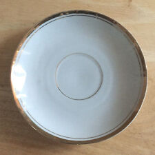 Saucer White with Gold Rim Germany 39