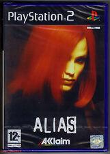 Alias Original Black Label Sony PlayStation 2 Ps2 PAL