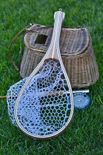 Hand Made Solid Wood Trout Landing Net