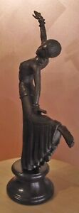 Bronze Statue the Dancer by Chiparus