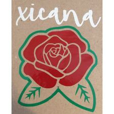 Xicana/ Chicana Rose Decal