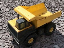 Vintage Steal Tonka Yellow Truck Collectible