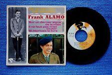 FRANK ALAMO / EP RIVIERA 231 147 / LABEL 2 / BIEM 1966 ( F )