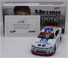 SIGNED 2017 WILLIAM BYRON #9 VANNOY CONSTRUCTION AUTOGRAPHED 1/24