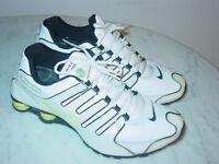 2009 Mens Nike Shox NZ SL White/Black/Neon Green Running Shoes Size 11.5 $160.00