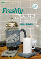 KNITTING PATTERN HOME CAFETIERE COSY & COASTER SET ARAN KTM AUA SPECIAL OFFER