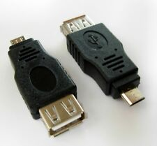 Adaptateur USB 2.0 vers micro USB male/USB female Adapter to male micro USB