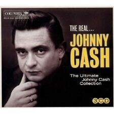 Johnny Cash-The Real Johnny Cash The Ultimate Collection 3 CD Country Nuovo