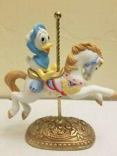Disney New England Collector's Society Carousel Dewey Duck Horse Figure