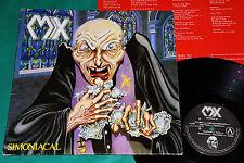 MX - Simoniacal BRAZIL 1st PRESS LP 1988 SEPULTURA DORSAL HOLOCAUSTO