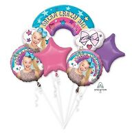 Jojo Siwa  Foil Balloon Bouquet 5, Anagram SEALED FREE SHIPPING