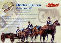 Schuco Distler Figuren Collection 2005 Katalog Prospekt catalog metal figures