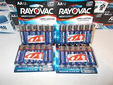 48 AA RAYOVAC premium alkaline batteries Dated  2026  Made in USA free shipping