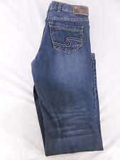 Silver jean Co. - Dark Blue Jean - size - junior 16 Excellent Condition 6048