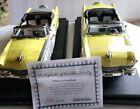 ERTL 1956 Ford Sunliner  B4-N-After 2 Car Set 1:18 Yellow Diecast Car 691 / 2500