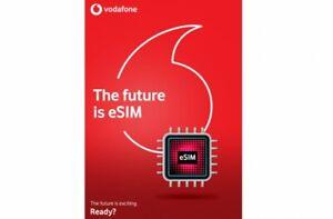 Vodafone UK Pay As You Go ESIM