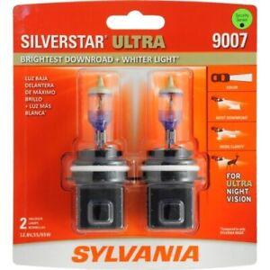 Sylvania 9007 Silverstar ULTRA NIGHT VISION Halogen Headlight Bulbs Pack of 2