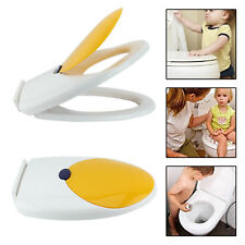 Toilet Seat for Toddlers Training Soft Close Kids Family Child Potty White