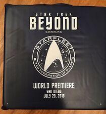 Comic Con Star Trek  Beyond Premiere Promo SEAT Cushion Exclusive **RARE** NAVY