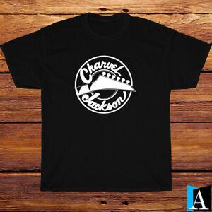 New Shirt Charvel Jackson Guitars Logo T-Shirt Black/White/Grey/Navy Size S-3XL
