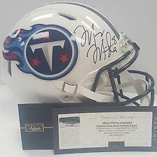 Marcus Mariota Autographed Titans Full Size Speed Authentic Helmet