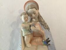 "OLD GOEBEL HUMMEL MADONNA & CHILD ~  Large 8.25"" tall ~ Bee Decal TM3"