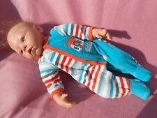 pyjamas   bébé naissance ou compatible avec reborn,baigneur colin 48cm