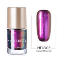 9ml Chamäleon Nagellack Glitzer Wonderworld Nail Art Polish Dekor Nicole Diary